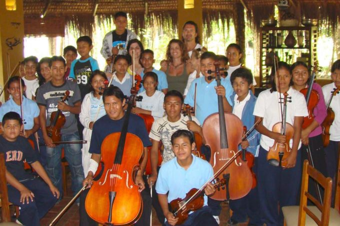 Orquesta infantil y coro
